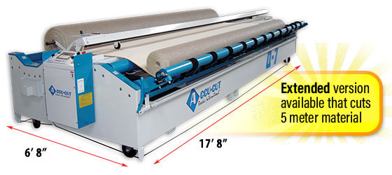 Q-7  Carpet Cutting Machine