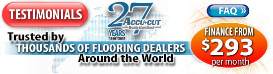 Trusted by Thousands of Flooring Dealers around the World -- Financing from $283 per month